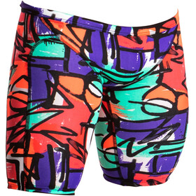 Funky Trunks Training Jammers Bathing Trunk Men colourful